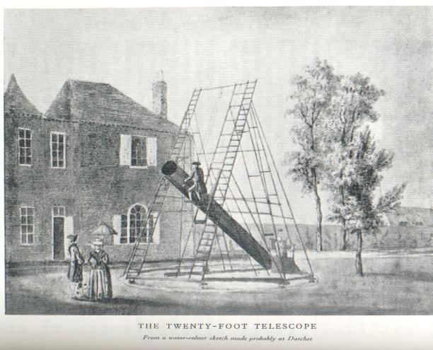 William and Caroline Herschel in Datchet