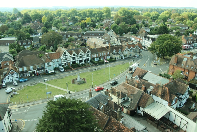 2016, taken from the top of the church steeple during restoration work by A Giddins