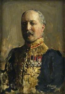 NPG 6337; Sir Lionel Henry Cust by Sir John Lavery