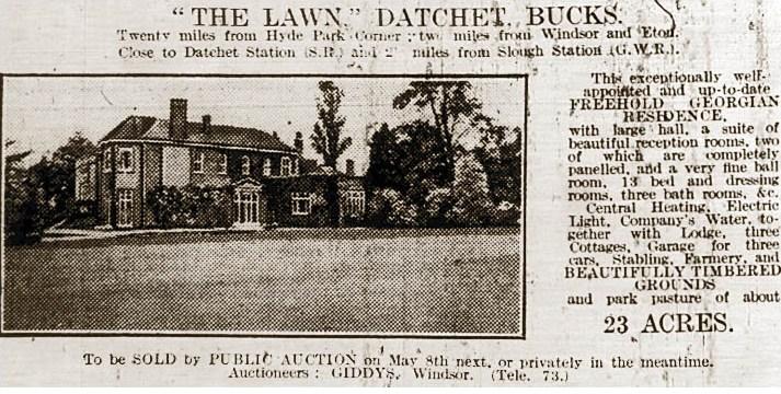 Lawn_Ad_1930
