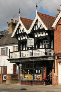 Rose and Chestnut Cottages, The Pharmacy and Old Bank