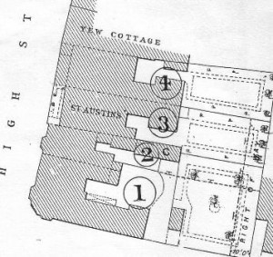 In 1896 the Montagu estate put all their Datchet village properties up for sale Not all actually sold at that time.