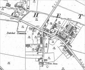 Datchet Common in 1899