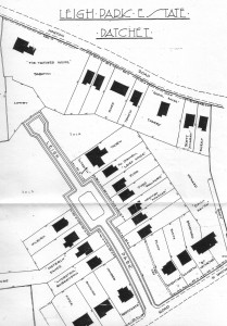plan of Leigh Park about 1930