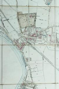 Ordnance Survey 1868 large-scale map