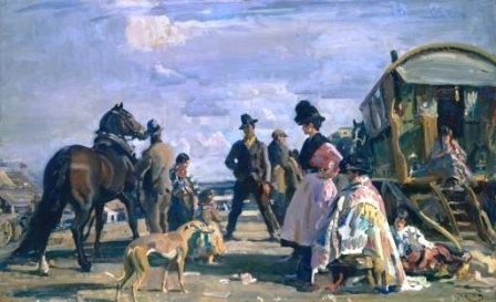 Sir Alfred Munnings and Datchet's Travellers