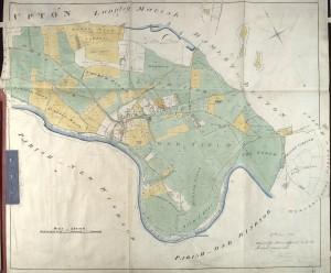 Enclosure map Datchet 1833