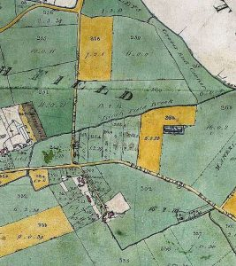 horton-east-crop-of-enclosure-map-berks-1833